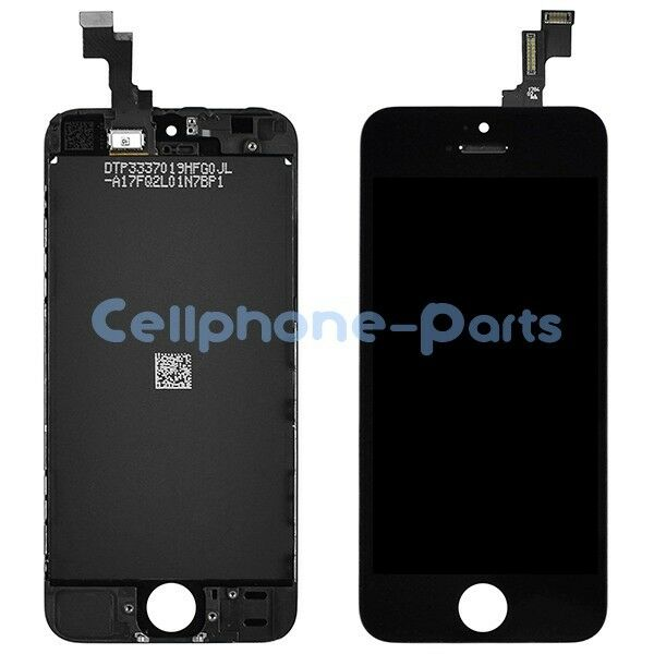 iPhone 5s LCD Screen Display with Digitizer Touch Panel Replacement Part, Black