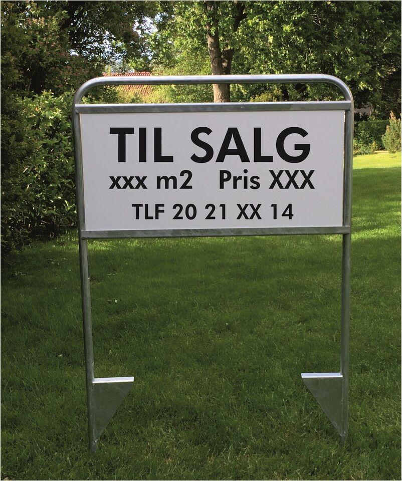 """Skilte """"Til salg"""""""