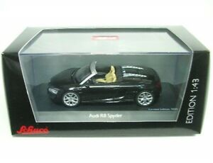 Audi-R8-Spyder-negro-Fantasma