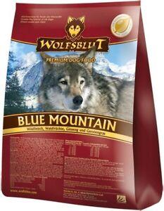 Wolfsblut-Blue-Mountain-Trockenfutter-500g-Wild-amp-Waldfruechten-GETREIDEFREI