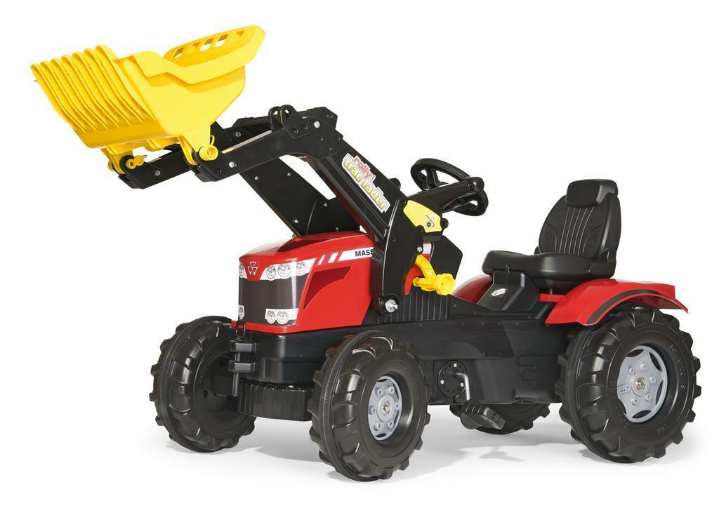 Trettraktor rolly Farmtrac Massey Ferguson 8650 Frontlader Rolly Toys