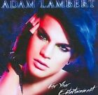 for Your Entertainment 0886976614522 by Adam Lambert CD