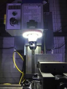 Milling Machine Spindle Light For X2 Mini Mills Hi Torque