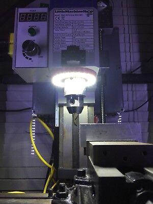 120mm Led spindle light mill router lathe C02 Laser Engraver router Bridgeport
