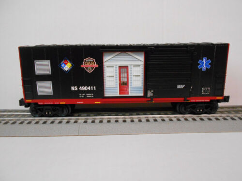 LIONEL 6-84490 NS FIRST RESPONDERS BOXCAR O GAUGE FREIGHT NORFOLK SOUTHERN