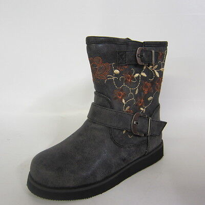 GIRLS SPOT ON ANKLE BOOTS STYLE H4083