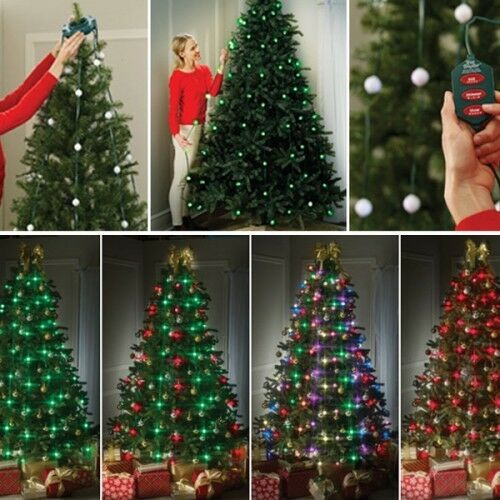 DAZZLE YOUR TREE / tent - 64 LED , 16 PATTERNS