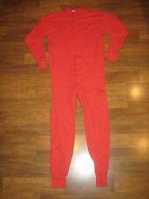 EVA Mens XXL Red ONE PIECE Sleep Thermal Long John Underwear Pajama Party 2XL