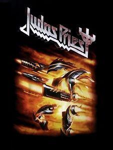 JUDAS-PRIEST-cd-lgo-FIREPOWER-Official-Black-SHIRT-new