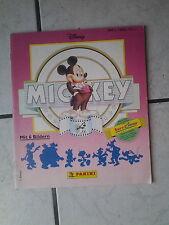 Mickey (Walt Disney)   .. Klebebilderalbum  Panini   (wenig bilder eingeklebt)