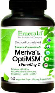 Meriva & OptiMSM + PureWay C by Emerald, 60 capsule
