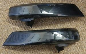 LED Pairs Repeaters Gems Side indicators BMW F10//F11 10-13 GLOSSY BLACK M3C1UK M
