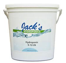 Jack's 4lb Hydroponic Plant Food 5-12-26 JR Peters Hydro Jacks