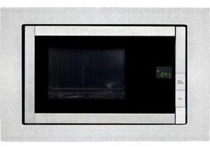 LUXUS-800W-Einbau-Mikrowelle-20-Liter-Garraum-Timer-Grill-Exquisit-EMW-21-G