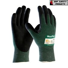 Pip Maxiflex Nitrile Micro Foam Coated Ansi A2 Cut Resistant Work Gloves 34 8743