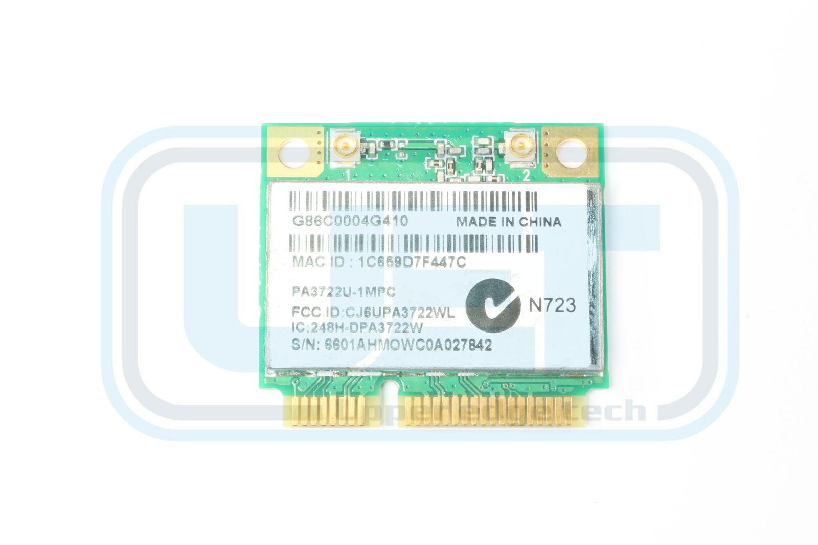 Toshiba Satellite C655D-S5084 V000180350 WLAN 802.11g Half Height Tested
