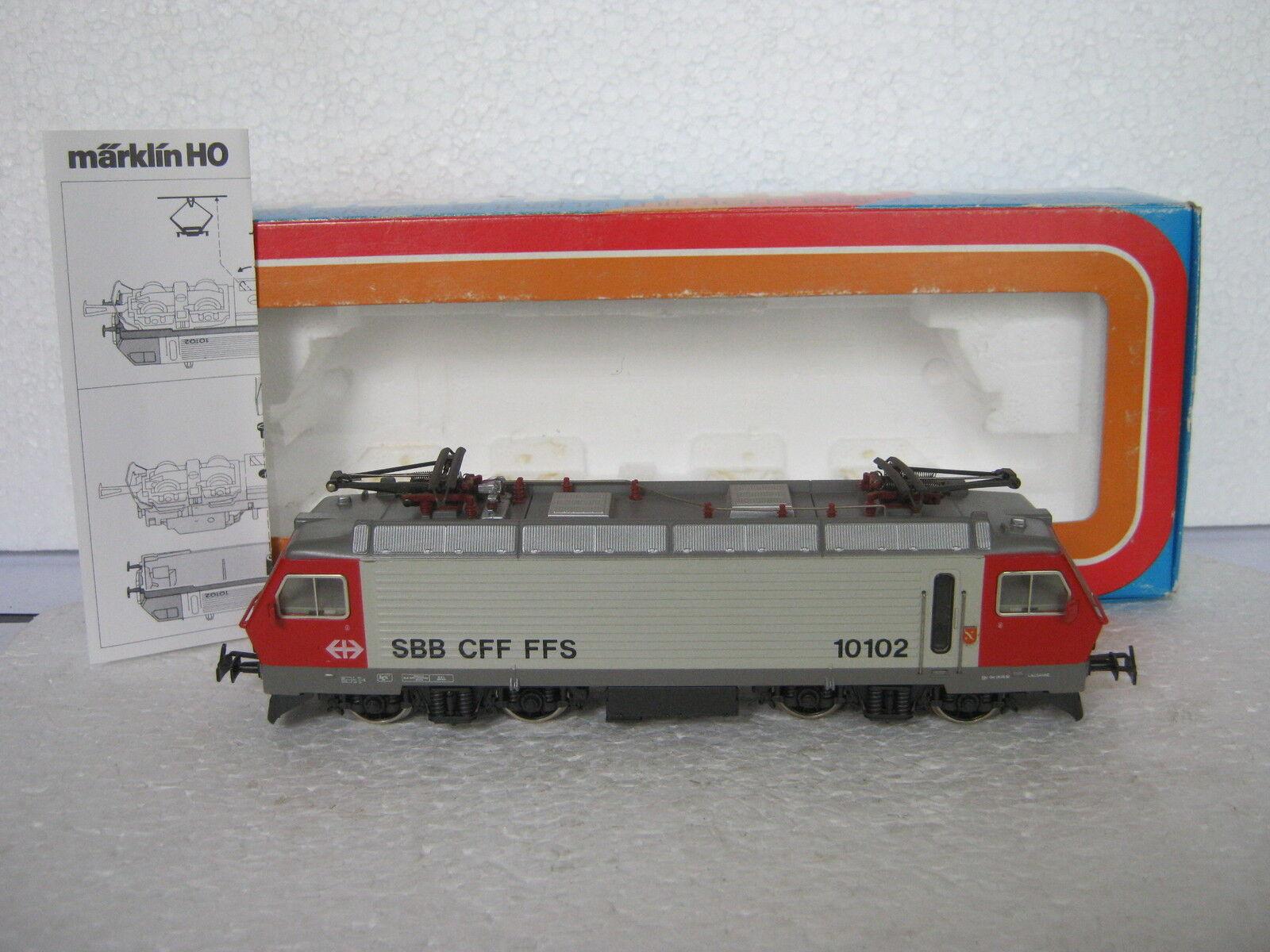 Märklin HO 3323 E-Lok re 4 4 BR 10102 SBB (rg cg 002-59s8 1)