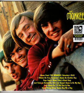 The Monkees 2lp Set * The Monkees * Rhino (Run Out Groove) Yellow Vinyl #253