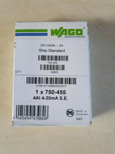 Wago 750-455 NEU OVP