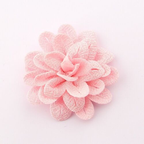 "20pcs 6.2CM 2.4/"" Hair Flower For Hair Accessories Fabric Flowers For Head Wear"