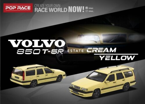 POP Race 1:64 Model Car Volvo 850 Estate-Touring Diecast Toy Collection-3 Colors