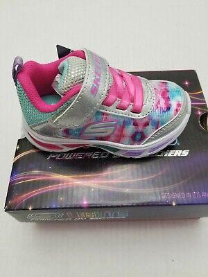 Cerveza Tecnología entrega a domicilio  Toddler Girls Light Up Tennis Shoes Size 5 Sketchers Brand S-Lights 10921N/SMLT    eBay