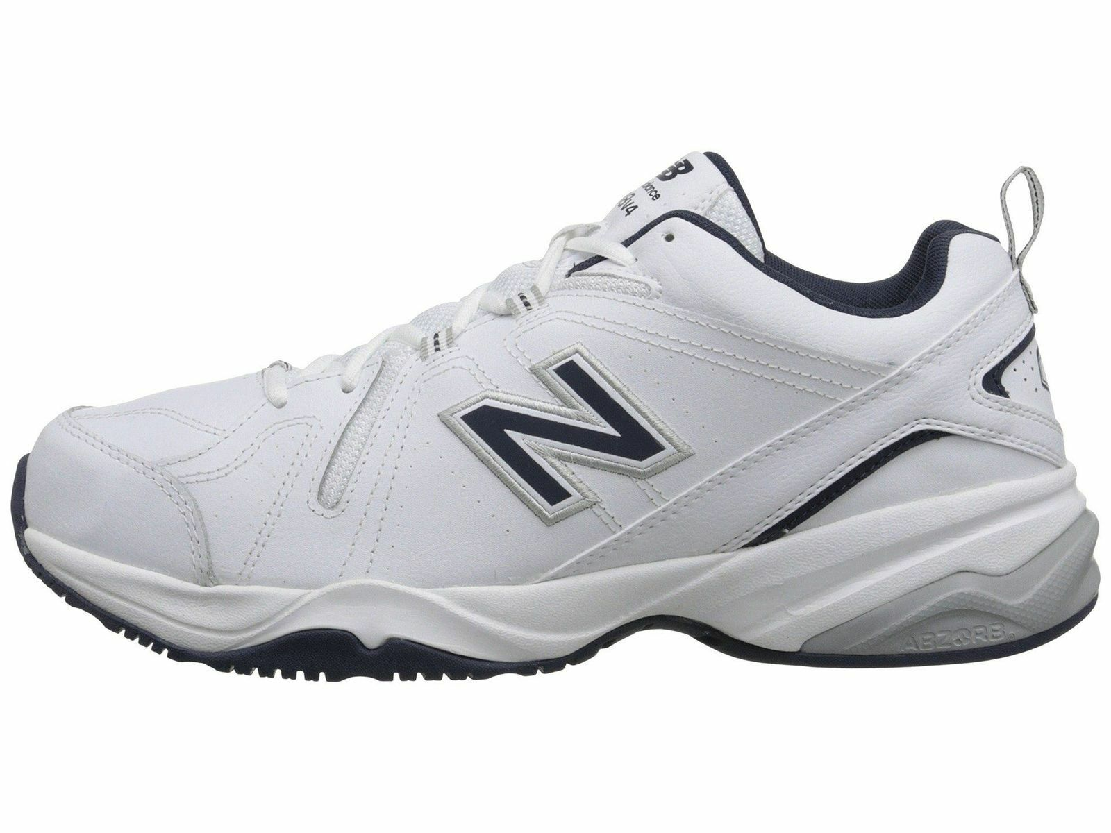 New Balance MX624WN2 White Navy Leather Men/'s Training Shoes New 100/% Authentic