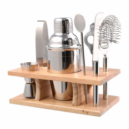 750 ML Stainless Steel Cocktail Shaker Mixer Drink Kit Bars Set Bartender Tools
