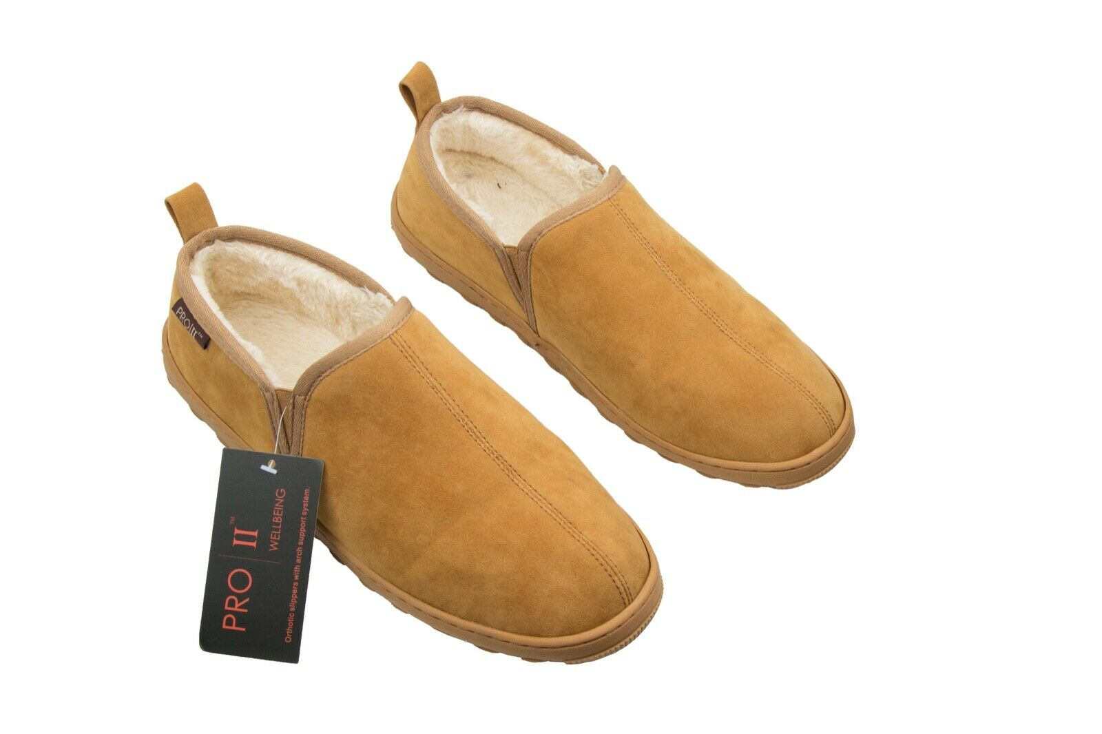 Pro 11 wellbeing orthotic slippers with soft comfortable lining