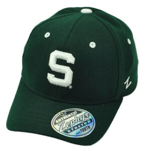 NCAA Zephyr Michigan State Spartans Mens Tailored Stretch Hat Grey Medium//Large