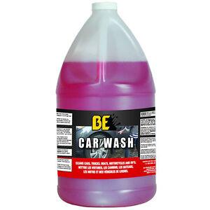 BE Semi-Pro Car Wash Pressure Washer Detergent Concentrate (1 Gallon)