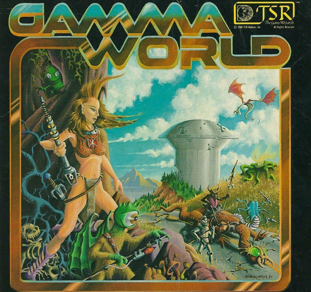 TSR Gamma World RPG Multi title listing