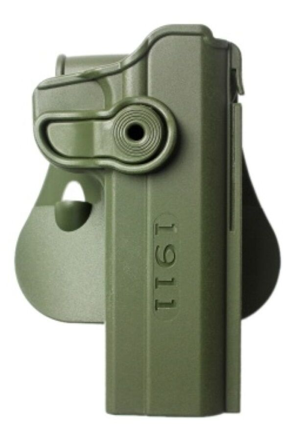Z1030 IMI Defense OD Grün RH Roto Holster for 1911 Variants With / WO Rails, 5