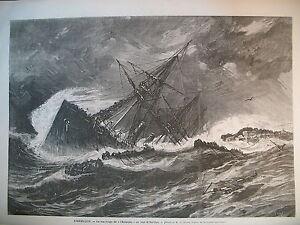 NAUFRAGE-STEAMER-ATLANTIC-LIVERPOOL-NEW-YORK-CARLISTES-ESPAGNE-GRAVURES-1873