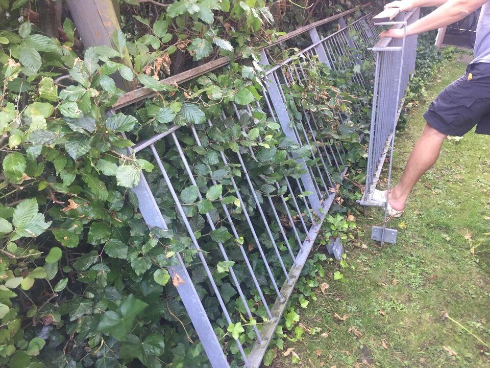 Galvaniseret gelænder til terrasse eller indgang