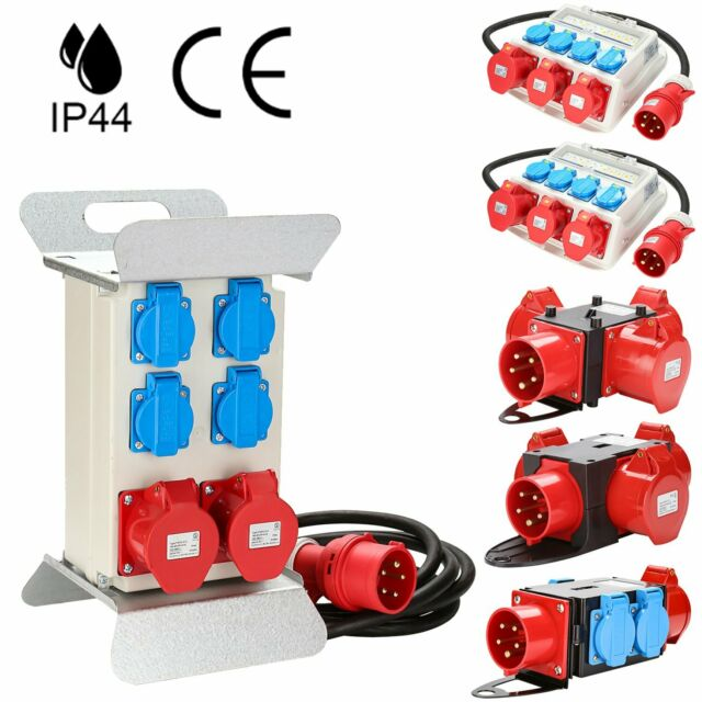 CEE-Spina 2 bipresa 1081562 Adattatore CEE 3 poli 16 A//230 V IP 44 siemens