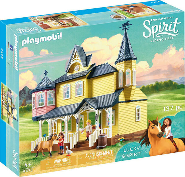 Playmobil Spirit Home Of Lucky 9475 Playmobil