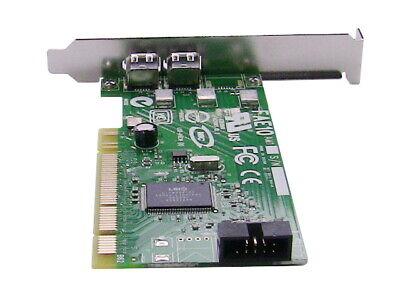 Genuine Dell H924H Dual Port IEEE-1394 PCI FireWire Card LS2-FAE10