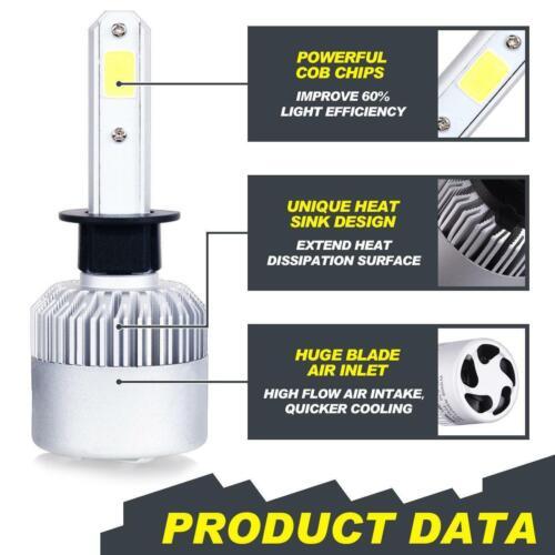 H11 LED Headlight Kit For Kia Optima 2011-2015 Sorento 2007-2013 Hi//Lo Beam H1