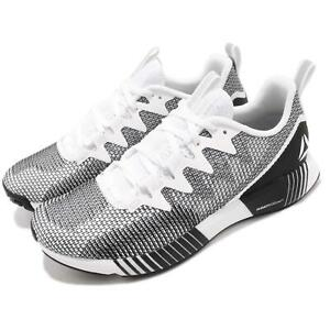 6f0120a28 Reebok Fusion Flexweave White Grey Black Men Running Shoes Sneakers ...