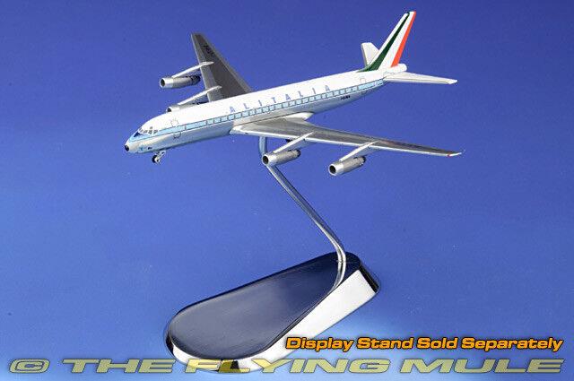 1 400 DC-8-42 I-DIWA Alitalia w Ground Equipment