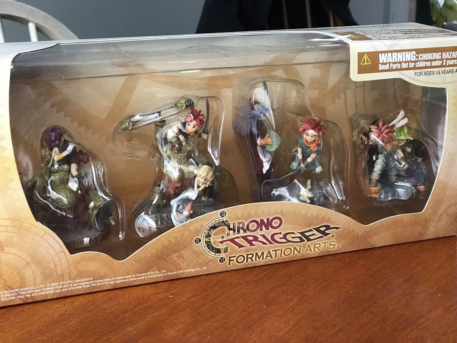 Chrono Trigger Formation Arts Trading Figures Set Of 4 Square Enix NEUF Rare