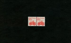 Scott-1908-Plate-Number-Coil-Pair-of-Plate-8-MNH-Free-US-SHIP