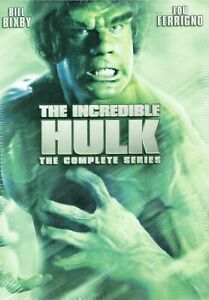 The Incredible Hulk: The Complete Series 20 DVD Gift Box Set Free Shipping