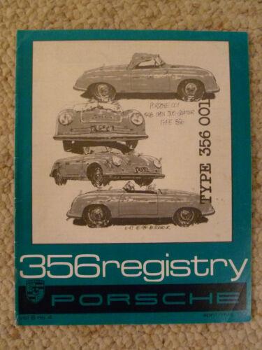 1980 Porsche 356 Registry Magazine 4 June // July 1980 Early /& Rare! Vol# 6 No