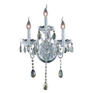 CRYSTAL-WALL-SCONCE-SILVER-CHROME-DINING-ROOM-BEDROOM-LAMP-TEAR-DROP-3-LIGHT-20-034