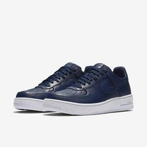 nike air force 1 navy blue gold nz