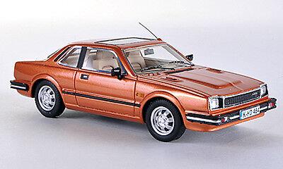wonderful modelcar HONDA PRELUDE I COUPE 1980 - copper metallic - 1/43