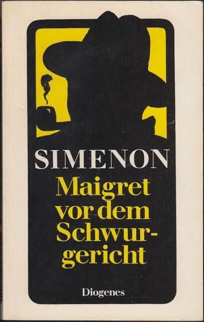 Maigret vor dem Schwurgericht: Band 55 (Softcover · Diogenes 1979 · 20692) Z 2+