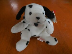 262588db9a8 Image is loading NEW-TY-DOTTY-the-DALMATIAN-BEANIE-BABBY-MINT-